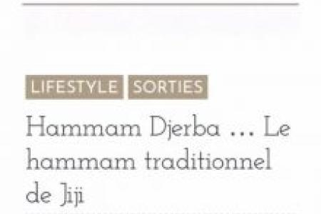 Article blog Chut Mon Secret - Hammam Djerba