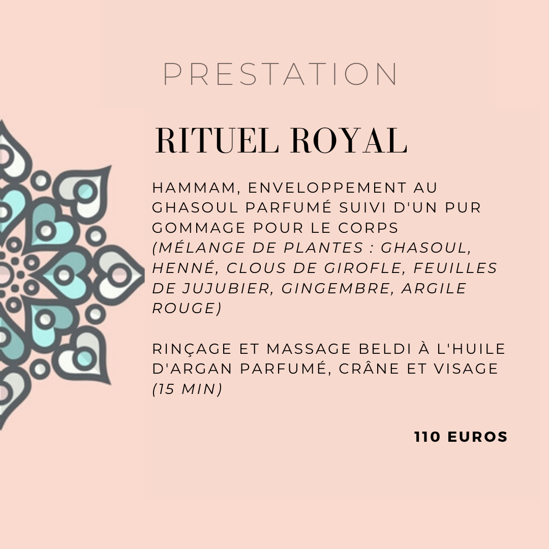 Rituel Royal Hammam Djerba - Marseille - Centre bien-être oriental